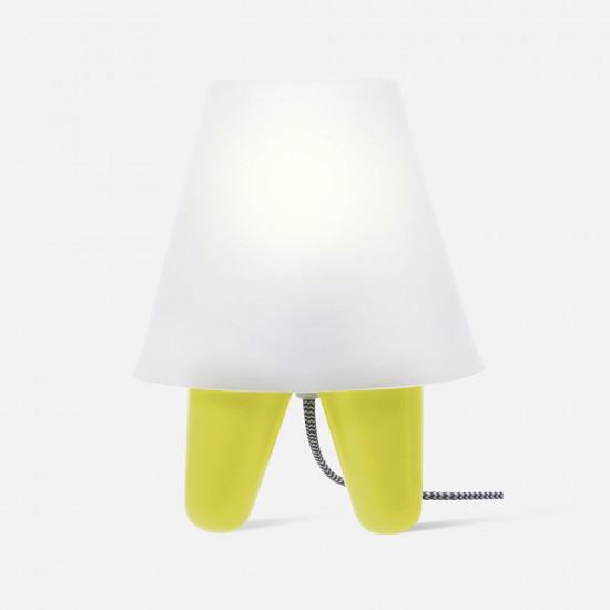Table lamp Dab - Lime green