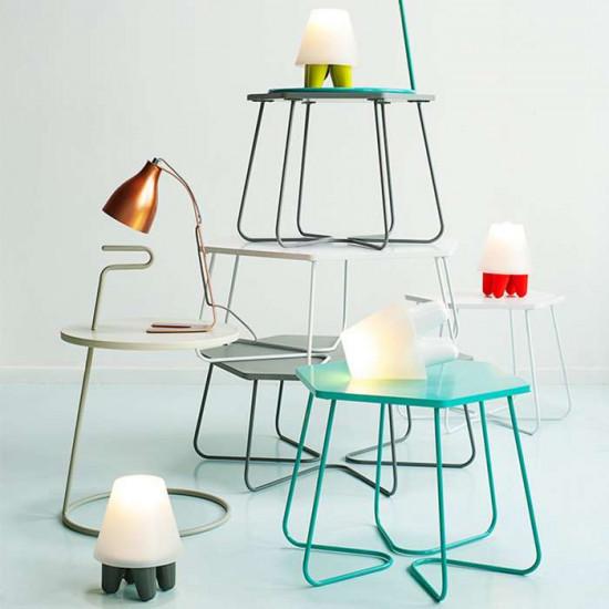 Table lamp Dab - Grey