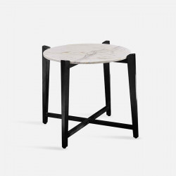 STORA Marble Coffee Table, Black
