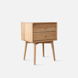 NOR Bed Side Table, Oak