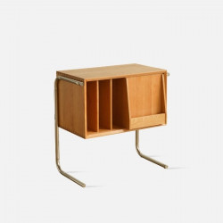 NADINE Bedside Table, Cherrywood