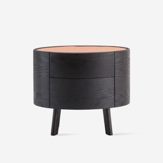 NOVA Round Bedside Table