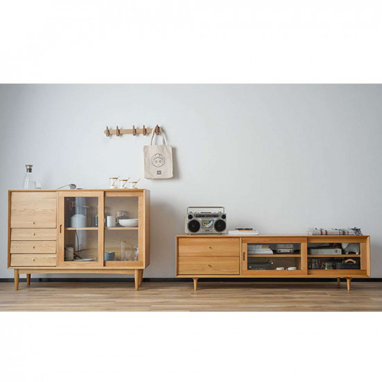 DANDY TV Cabinet II, W180, Oak