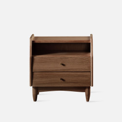 Dandy Bed Side table II, Walnut