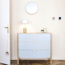 [Pre-Order Sale] Marius Chest of Drawers, Light Grey