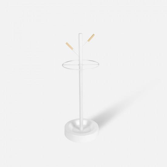 Umbrella Stand Fushion - White