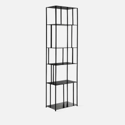 SIMP Metal Grid Shelf W50 Black