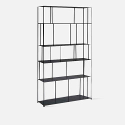SIMP Metal Grid Shelf W100 Black