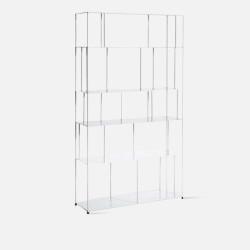 SIMP Metal Grid Shelf W100 White