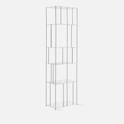 SIMP Metal Grid Shelf W50 White