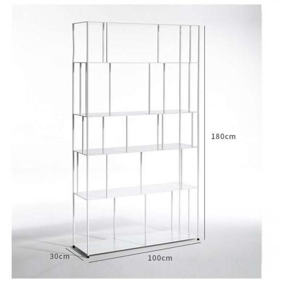 SIMP Metal Grid Shelf W100 Black