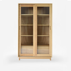 Breeze Bookshelf W110, Oak