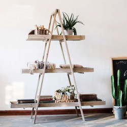 Ladder Shape Shelf