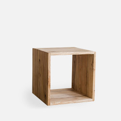 Oak Shelf Unit H40