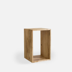 Oak Shelf Unit H60