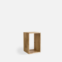 Oak Shelf Unit, H20