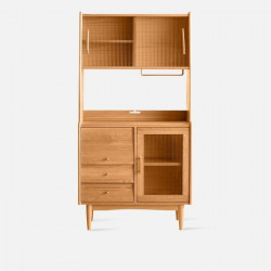 NADINE Cupboard L85, Cherry