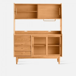 NADINE Cupboard L130, Cherry