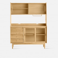 NADINE Cupboard L130, Oak