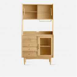 NADINE Cupboard L85, Oak
