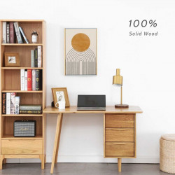 DANA Bookshelf, W55, Oak