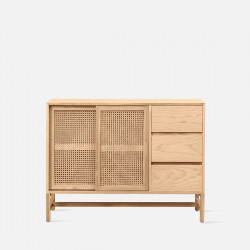 SEN RATTAN Side Board with drawer L120