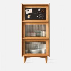 NADINE Blackboard Cabinet W60, Cherry Wood