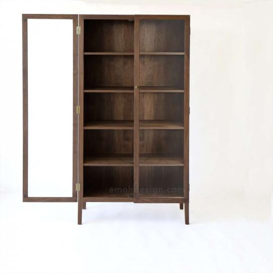 DANDY Bookshelf H180, Walnut