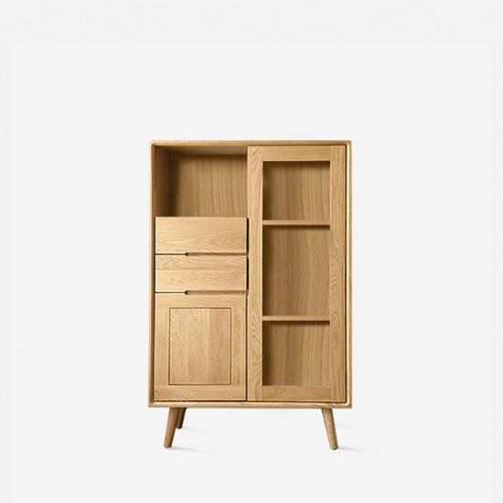 ZIPLINE Sideboard W80, Natural Oak