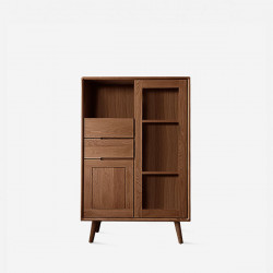 ZIPLINE Sideboard W80, Walnut Brown