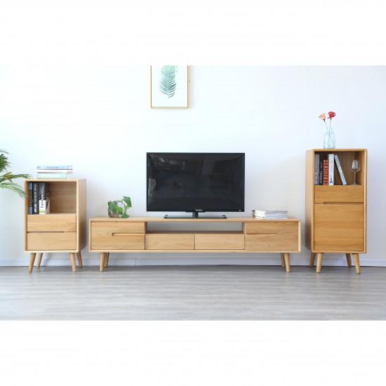 ZIPLINE TV Cabinet W180, Walnut