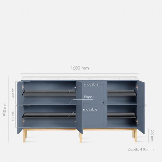 Maburu Console L160, Grey