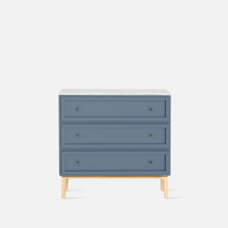 [SALE] Maburu Chest of Drawers, W90, BL