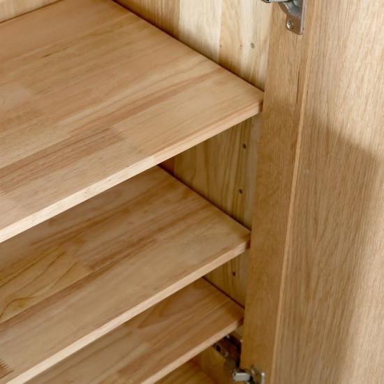 DANA Shoe Cabinet, 2-Door, W80, Oak