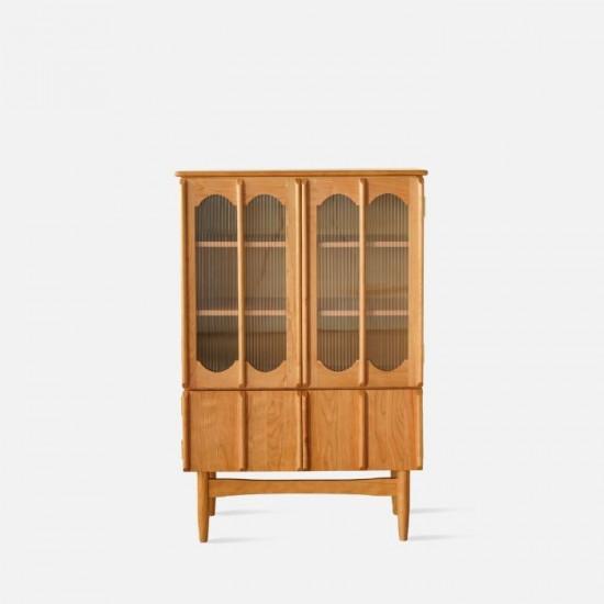 NADINE Vintage bookshelf, H128