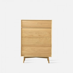 NOR Chest of Drawers W850, Oak