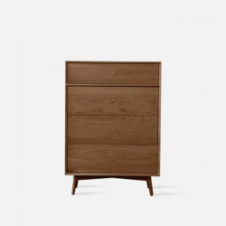 NOR Chest of Drawers, W850, Walnut