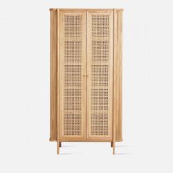 SEN RATTAN Shelf L90