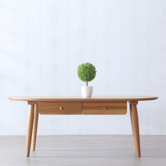 DOLCH Coffee Table, W120, Oak