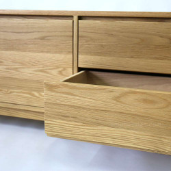 OAKI TV Cabinet, Oak