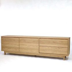 OAKI TV Cabinet, Walnut