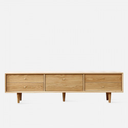 NOR TV Cabinet W150/180, Natural Oak