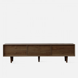 NOR TV Cabinet W150/180, Walnut Brown