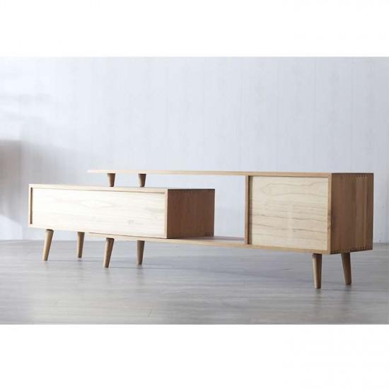 ZIPLINE Extend TV Cabinet, Natural Oak