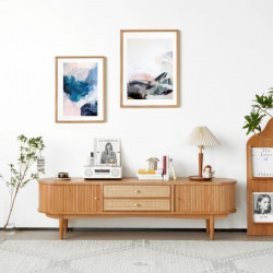 NADINE LINEAR TV Cabinet, L180-200
