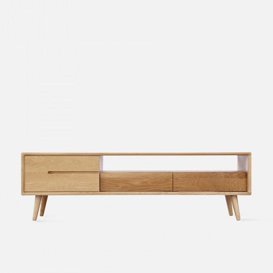 [SALE] ZIPLINE TV Cabinet No.2 W150, Natural Oak