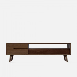 ZIPLINE TV Cabinet No.2 W150, Walnut Brown