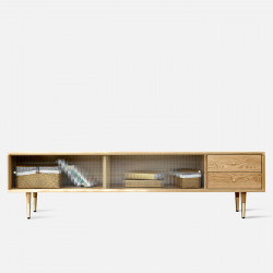 NOR Glass TV Cabinet L180