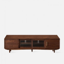 NADINE TV Cabinet, Natural Walnut, L200
