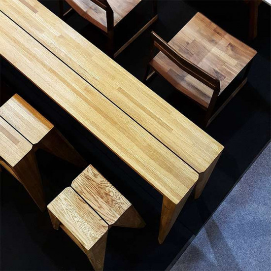 Piece Bar Stool - Oak